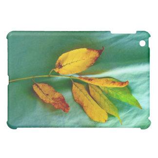Golden Leaves iPad Case