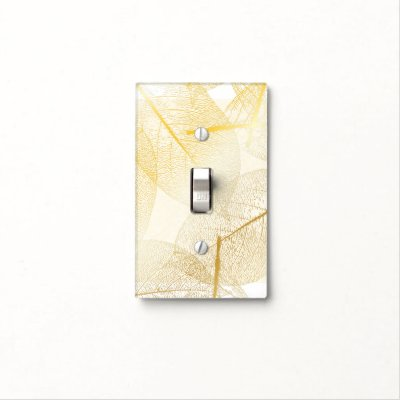 Leaves Light Switch Cover Zazzlecom