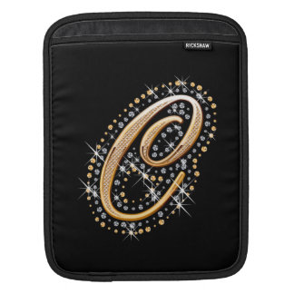 Golden Letter C - iPad Sleeve