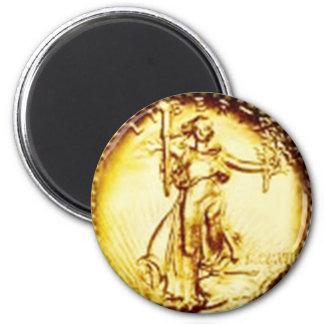 Golden Libertas - magnet