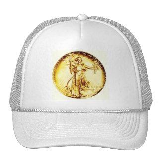 Golden Libertas Trucker Hat