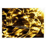 Golden Light - Angel Daily Prayer Card Large Business Cards (Pack Of 100)