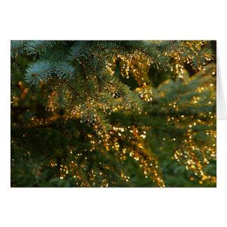 Golden Light Card