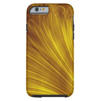 Golden Light Fractal Tough iPhone 6 Case