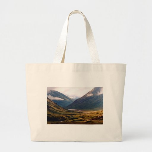 Golden Light in Glencoe Canvas Bags