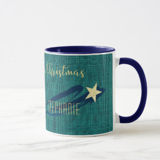 Golden Light of Christmas Mug