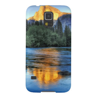 Golden Light on Half Dome Galaxy S5 Cover