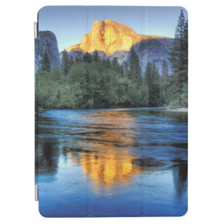 Golden Light on Half Dome iPad Air Cover