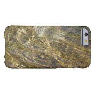 Golden Light on Water Abstract Barely There iPhone 6 Case