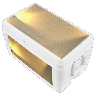 Golden Lights Chest Cooler