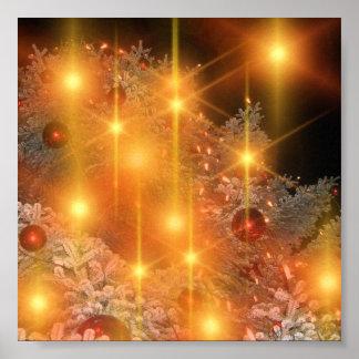 Golden Lights Holiday Christmas Tree Decorations