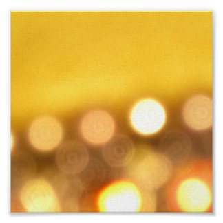 Golden Lights Print