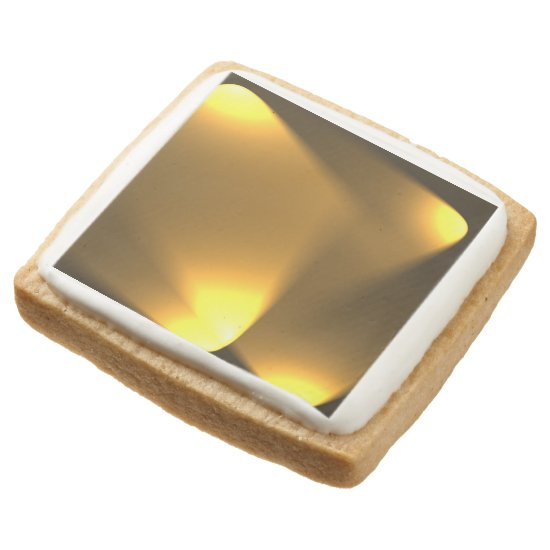 Golden Lights Square Shortbread Cookie
