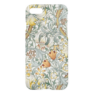 Golden Lilies iPhone 7 Clear Case