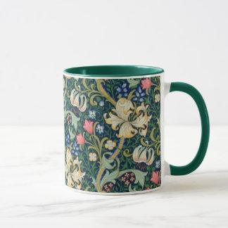 Golden Lilies Mug