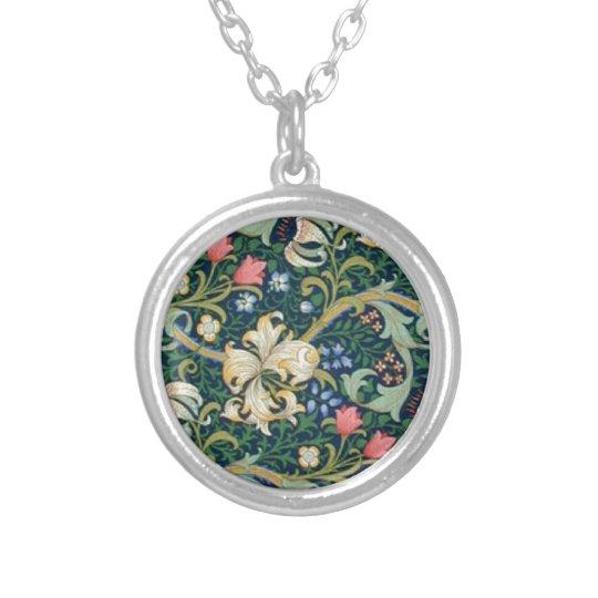 Golden Lilies Necklace