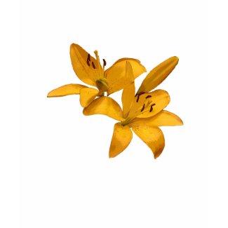 Golden Lilies shirt