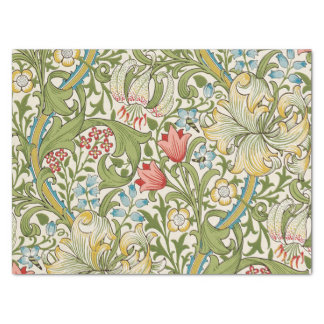 "Golden Lily by William Morris 15"" X 20"" Tissue Paper"
