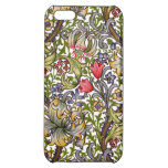 Golden Lily Vintage Floral Pattern William Morris Cover For iPhone 5C
