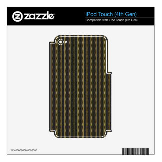 Golden Lines.jpg Decal For iPod Touch 4G