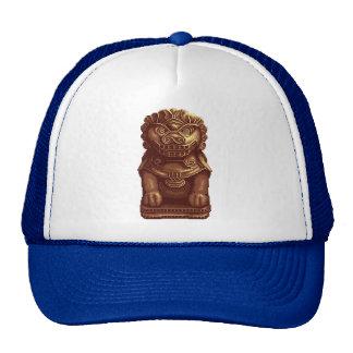Golden Lion Dog Pixel Art Trucker Hat