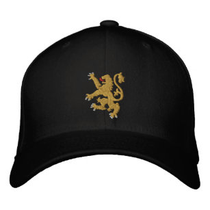 369d554e1617b Golden lion Embroidered King of Kings Cap