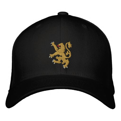 Golden lion Embroidered King of Kings Cap  6329d84eee6