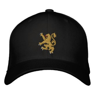 Golden lion Embroidered King of Kings Cap Embroidered Baseball Caps