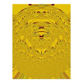 Golden Lion head Letterhead
