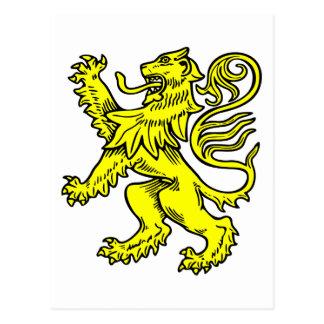 Golden Lion Postcard