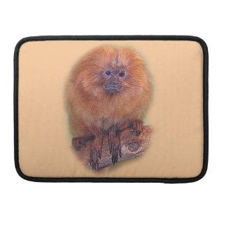 Golden Lion Tamarin, Golden Marmoset Monkey Brazil Sleeve For MacBooks