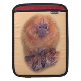 Golden Lion Tamarin, Golden Marmoset Monkey Brazil Sleeve For iPads
