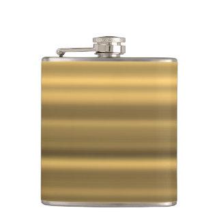 Golden Liquid Courage Flasks
