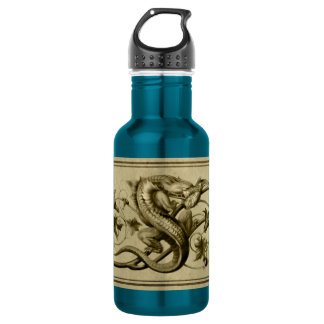 Golden Lizard Bottle
