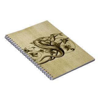 Golden Lizard Journal Notebook
