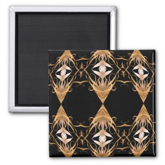 Golden Locks Magnet