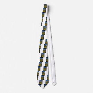 Golden Longs Peak 14259 Poster Neck Tie