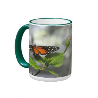 Golden Longwing Butterfly Mug