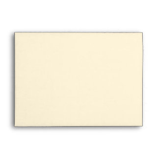Golden Look Fan Vintage Envelope