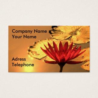 Golden Lotus Business Card