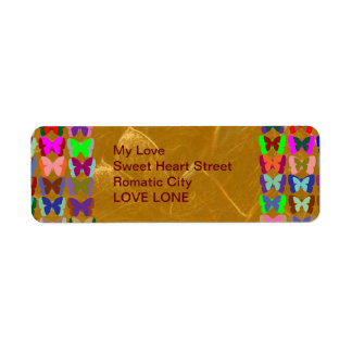 Golden Lotus Etched Foil LowPrice Shades n Pattern Label