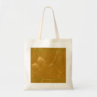 Golden Lotus Etched Foil LowPrice Shades n Pattern Tote Bag