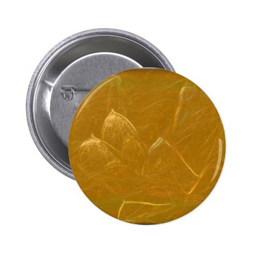 GOLDEN LOTUS FLOWER DECORATIVE GIFTS PINBACK BUTTONS