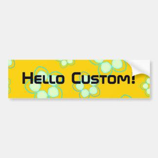 Golden Lotus Manga Fusion Bumper Sticker