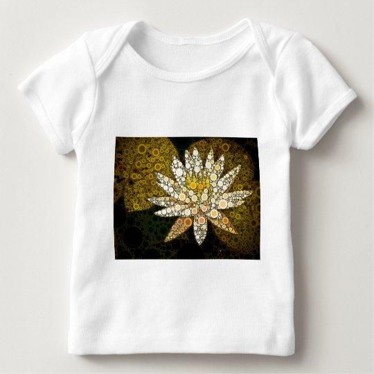 Golden Lotus Mosaic Baby T-Shirt