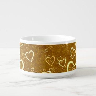 Golden Love Heart Shape Bowl
