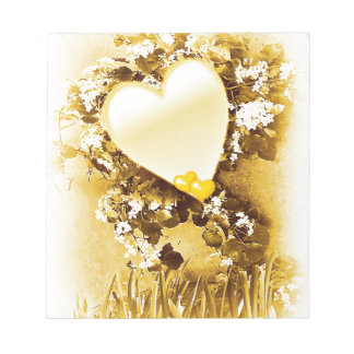 Golden Love_ Notepad