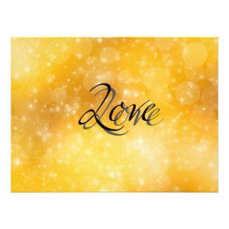 Golden Love Photo Print