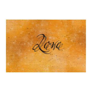 Golden Love Photo Cork Paper