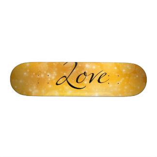 Golden Love Skateboard Deck